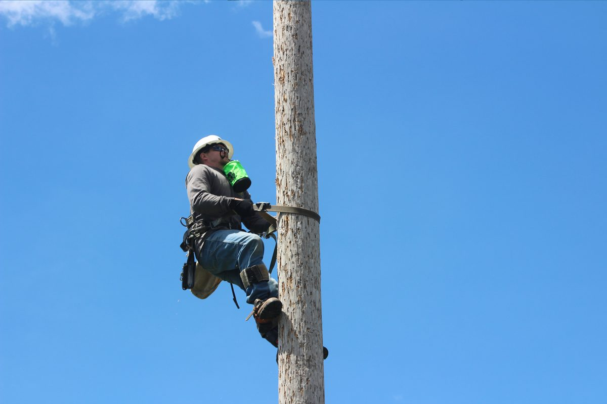 Climbing For Lost Lineman Rodeo Ibew Local 1600